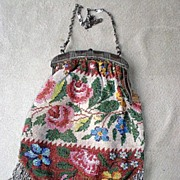 Marvelous Antique Micro-Beaded Purse
