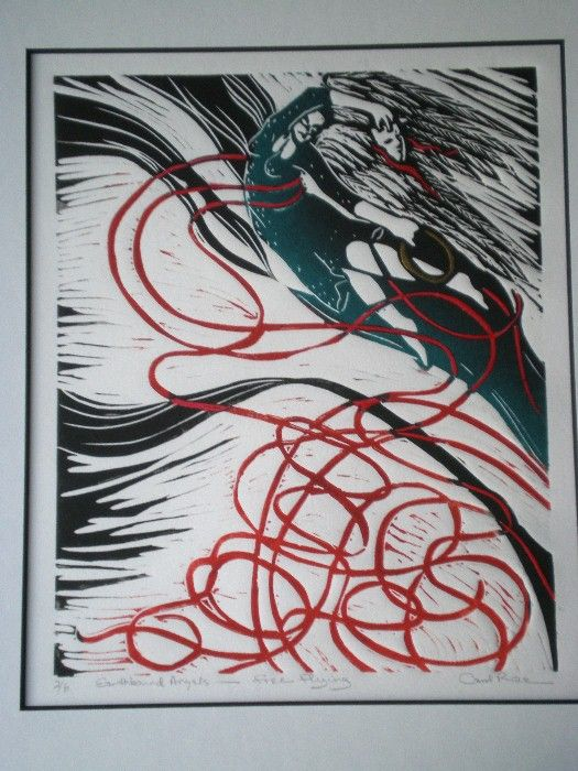 Listed Vancouver Island Artist Angel Series - Carol Rae