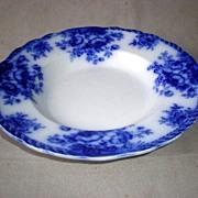 "Fabulous English ""Blenheim"" Flow Blue Bowl"