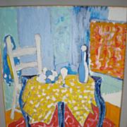 "Original ""Tony Curtis (1925-2010) Acrylic on Canvas Painting"