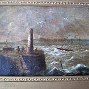 Original Oil Painting by Philip John Ouless (1817-1885)