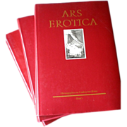 """""""Ars Erotica"""" by Ludwig von Brunn - 18th Century French Erotic Art in 3 Volumes"""