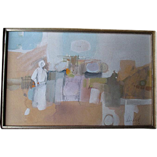 Original Painting by New Mexico Artist - Veloy Vigil (1931-1997)