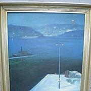 Original Oil Painting by Swedish Artist - Bertel Nordstrom