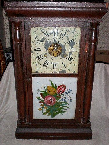 Marvelous Early Seth Thomas Pillar Ogee Clock