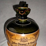 "Magnificent Royal Doulton ""John Dewar & Sons"" Whiskey Decanter"