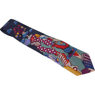 """Fool on the Hill"" Beatles Silk Dress Tie"