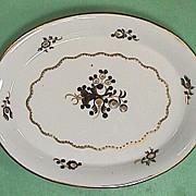 c1805 Chamberlain Worcester English Porcelain Teapot Stand Pattern #258