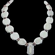 Native American Sliced Bone Necklace