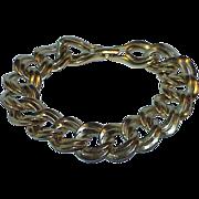 Sophisticated Large Double Loop MONET Estate Bracelet