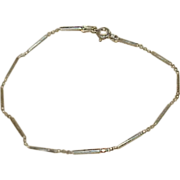 Vintage Italian Sterling Bracelet