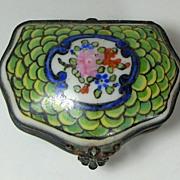 French, Edme et Cie Samson Porcelain Casket