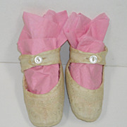 Silk Baby Shoes