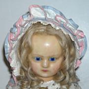 Vintage Cotton Doll Bonnet