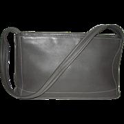 Vintage Coach Leather Bag 9309 Dark Gray