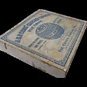 Old Store Stock Display Box Coats Thread Co