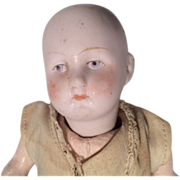 Antique German Bisque Head Doll