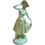 Amazing Porcelain Figurine Lady of 1940's Occupied Japan