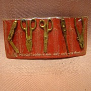 Set of Vintage Miniature Tools that Really Work - Great for a Doll Chatelaine