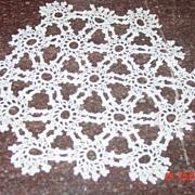 Vintage Crochet Lace Round Doily