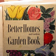 First Edition Better Homes and Gardens Garden Book