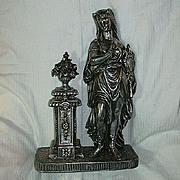 Spelter Statue Mythological Goddess