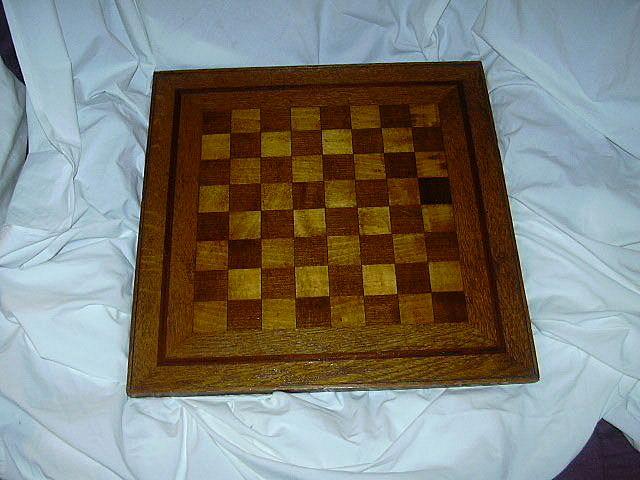 Inlay Wood Chess Board