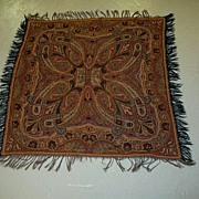 Antique Paisley Throw  Weaving Fine Textile