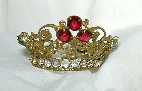 Jeweled Crown For Saint Santos Religious Statue
