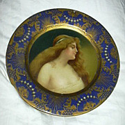 Anheuser Busch Malt Nutrine Vienna Art Plate Nude 1905