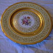 Selb Bavaria K&A Krautheim Dinner Charger Plates Set 12 Gold Trim