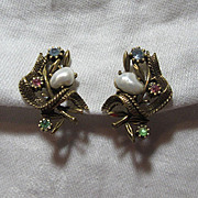 Old Coro Earrings