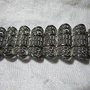 Sterling Silver Germany Filigree Bracelet