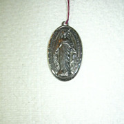 Creed Sterling Silver Miraculous Medal