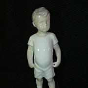 B&G Kai Boy Porcelain  Figurine