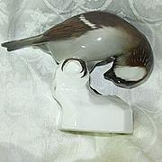 Nymphenburg Neuhauser Porcelain Bird Figurine