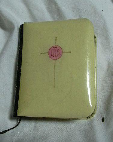 Celluloid True Miniature Book Of Common Prayer 1898