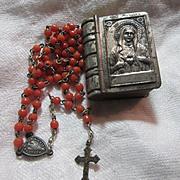Miniature Rosary In Original Case