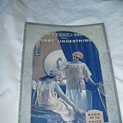 Clark's Designs For Smart Underthings 1922 Crochet Needlework Book