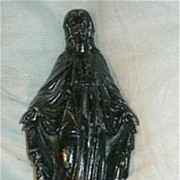 Virgin Mary Our Lady French Metal Statue Fine Catholic Christian Religious Figurine