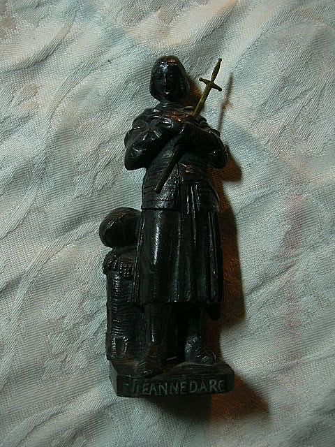 St Joan Of Arc Old Statue