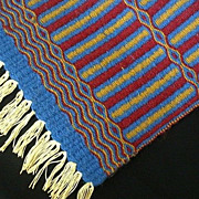 SALE Hand Woven 1970's Multi-Purpose Mat