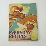 Recipes From Wesson Oil -1931