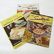SALE Recipe Booklets From The Sealtest Kitchen 1930s and 1954