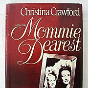 Mommie Dearest Book Club Edition - 1979