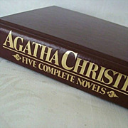 Agatha Christie Collection of Five Poirot Novels