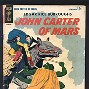 SALE John Carter of Mars Comic 1964 No. 1
