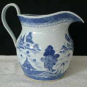 Traditional Large Chinese Canton Water Pitcher