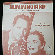 SALE Les Paul & Mary Ford: Sweethearts of the Fifties