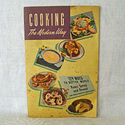 Cooking the Modern Way With Planter's Oil 1948